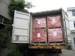 Pallets Loaded in the Container